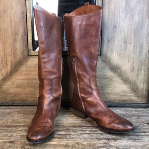 Arturo Chiang Enchant Brown Tall Riding Boot 9M